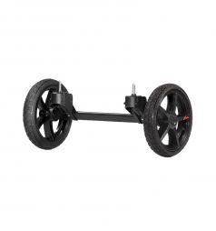 Дополнительные колеса Hartan для коляски Topline S, цвет: черный/оранжевый