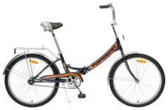 Велосипед Top Gear Compact, цвет: черный/оранжевый