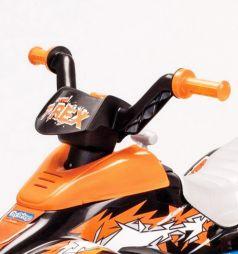 Электромобиль Peg-Perego Corral T-Rex, цвет: оранжевый