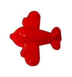 Формочка для песка Полесье Самолет красный