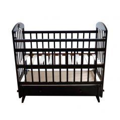 Кроватка Briciola 8, цвет: темный