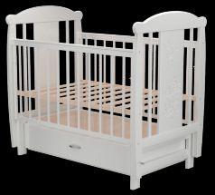Кроватка Valle Кот 04, цвет: белый