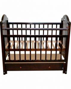 Кроватка Briciola 10, цвет: темный