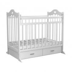 Кроватка Briciola 12, цвет: белый