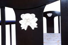 Кровать-качалка Briciola 5, цвет: темный