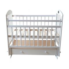 Кроватка Briciola 11, цвет: белый