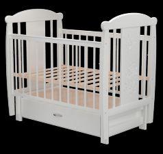 Кроватка Valle Кот 05, цвет: белый