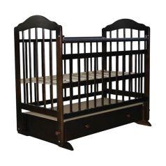 Кроватка Briciola 11, цвет: темный