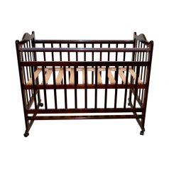 Кровать-качалка Briciola, цвет: темный