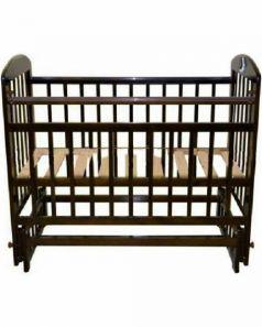 Кроватка Briciola 9, цвет: темный