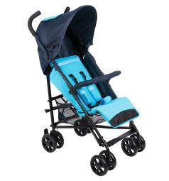 Коляска-трость Foppapedretti Passenger Spring, цвет: blu-azzurro
