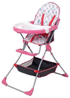 Стульчик для кормления Selby 252, цвет: розовый