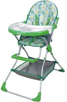 Стульчик для кормления Фея Selby 252, цвет: зеленый