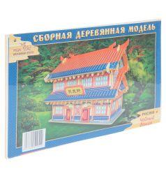 Сборная деревянная модель Wooden Toys Чайный домик
