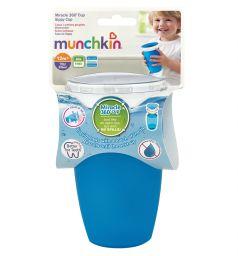 Поильник-чашка Munchkin, от 6 мес, цвет: голубой