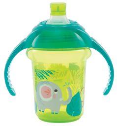 Поильник-чашка Munchkin С носиком, с 6 мес, цвет: зеленый
