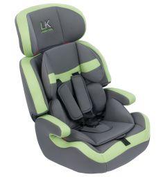 Автокресло Leader Kids City Travel, цвет: зеленый/серый