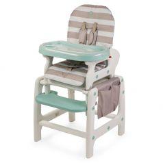 Стульчик для кормления Happy Baby Oliver V2, цвет: Beige