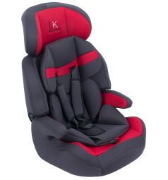 Автокресло Leader Kids City Travel, цвет: красный/серый