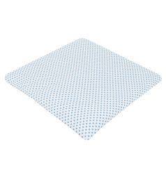 Подушка Зайка Моя Горох 40 х 40 см, цвет: синий