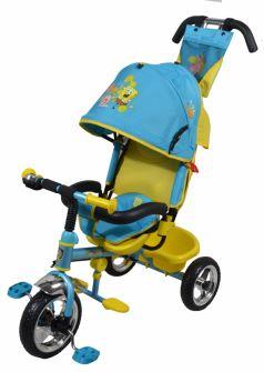 Велосипед Navigator Lexus Губка Боб, цвет: голубой/салатовый