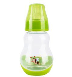 Бутылочка Бусинка пластик, 150 мл, цвет: салатовая