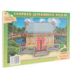 Сборная деревянная модель Wooden Toys Китайский домик