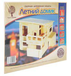 Сборная деревянная модель Wooden Toys Летний домик