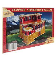 Сборная деревянная модель Wooden Toys Тибетский домик 1