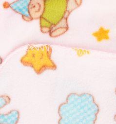 Baby Nice Плед Мишки-зайки 140 х 100 см, цвет: розовый