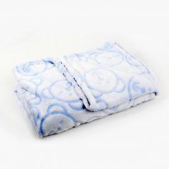 Baby Nice Плед-покрывало 3D 100 х 140 см, цвет: голубой