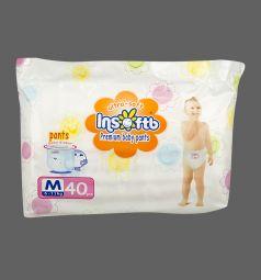 Подгузники-трусики Insoftb Premium Ultra-soft (6-11 кг) 40 шт.
