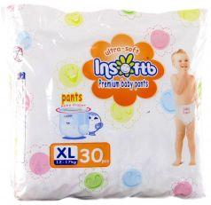 Подгузники-трусики Insoftb Premium Ultra-soft (12-17 кг) 30 шт.