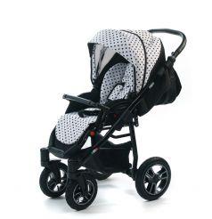 Прогулочная коляска Vikalex Lazzara, цвет: dots