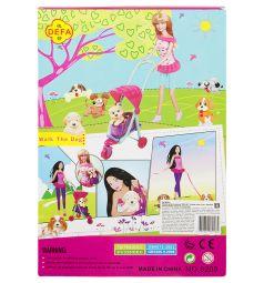 Игровой набор Defa Кукла с аксессуарами 28 см