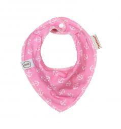Нагрудник ImseVimse Bandana, цвет: pink anchor