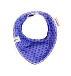 Нагрудник ImseVimse Bandana, цвет: purple stars
