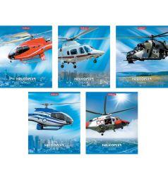 Тетрадь общая А5 48л линейка Erich Krause Helicopter