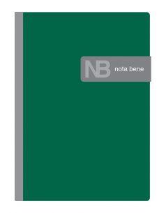Тетрадь А6 120 листов клетка Erich Krause One color с магнитной закладкой