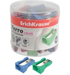 Точилка Erich Krause алюмин. Ferro color без контейнера