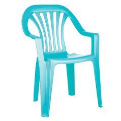 Детский стул Бытпласт, цвет:голубой