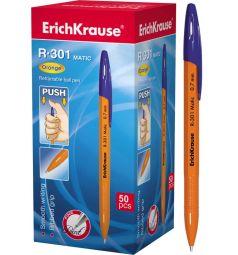 Ручка шариковая автоматическая Erich Krause R-301 Matic Orange