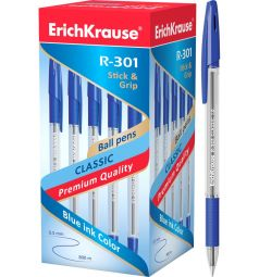 Ручка шариковая Erich Krause R-301 Grip