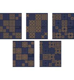Общая тетрадь А5 48 листов линейка Полиграфика Арабский узор
