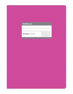 Тетрадь В5 120 листов Erich Krause Fluor c титульной этикеткой