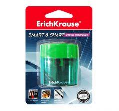 Точилка Erich Krause пласт. Smart &Sharp без контейнера