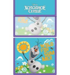 Папка для тетрадей А5 Disney Холодное сердце Олаф на липучке