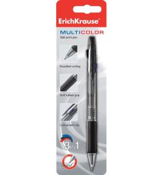 Ручка шариковая автоматическая Erich Krause Multicolor