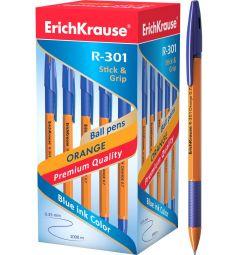 Ручка шариковая Erich Krause R-301 Grip Orange