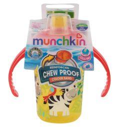 Поильник-чашка Munchkin С носиком, от 6 мес, цвет: желтый